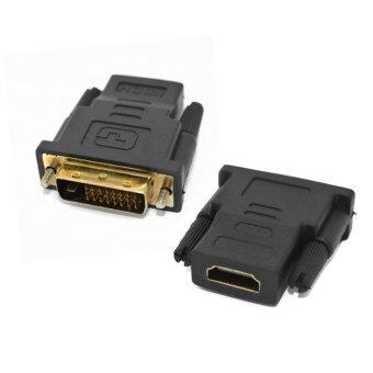 DVI(24+1)male to HDMI female adaptor