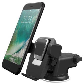 Easy One Touch 3 (V2.0) Car Mount Universal Phone Holder for iPhone7 Plus 6s Plus SE Samsung Galaxy S7 Edge S6 Edge Note 5- RetailPackaging- Black - intl