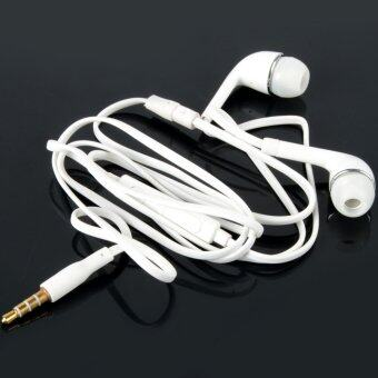 Easybuy New 3.5mm Stereo Headset Earphone Volume Control Mic For Samsung S4 S3 S2 - Intl