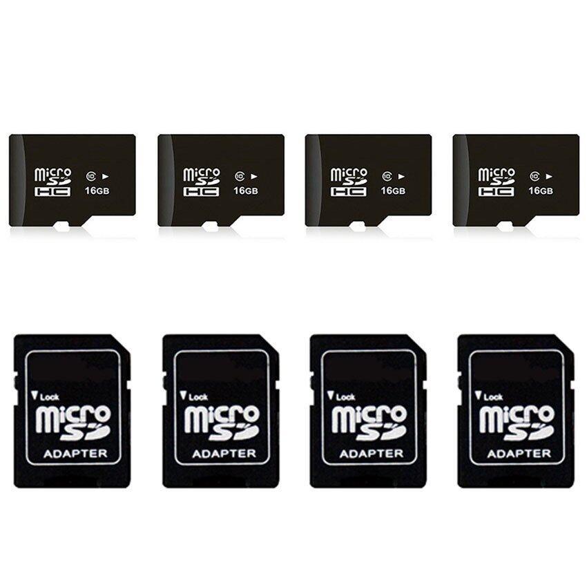 Elit 16GB Micro SD Card Class 10 Fast Speed พร้อม Adapter 4ชุด