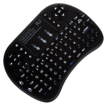 English Version Rii i8+ 2.4G Mini Wireless QWERTY Keyboard Mouse Touchpad