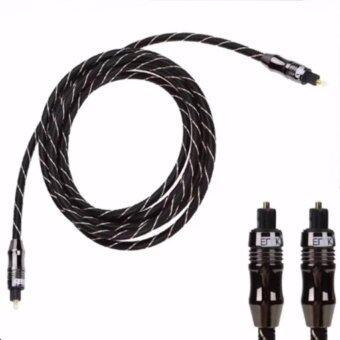 Eric สาย Optical ERTK Digital Optical Fiber Audio Cable OD 6.0 for DVD CD (3M)