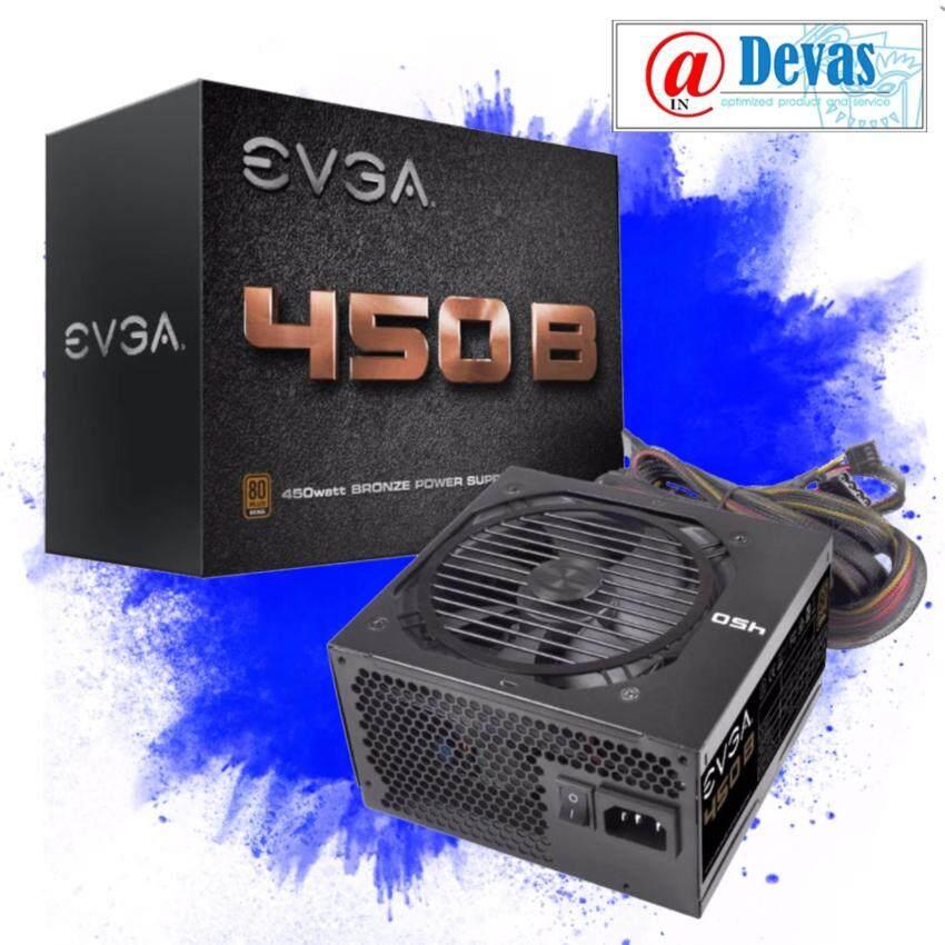 EVGA PSU / 450 B1 - 80+ BRONZE 450W รับประกัน 3 ปี