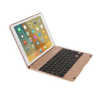 F19 Bluetooth Keyboard Smart Folio Case For iPad Pro/ iPad Air 2 - intl