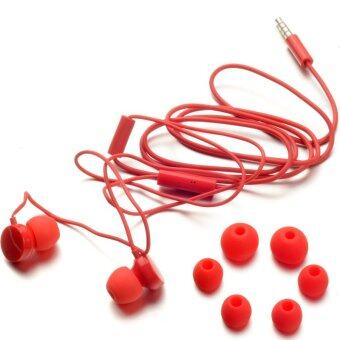 Fancytoy 3.5mm Line Earphone Headphones with Micphone for Nokia (Red) - intl