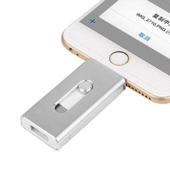Flash Drive For iPhone 7 6 6s Plus 5/5s iPad/iPod OTG Flash Drives Pendrive 64GB HD Memory Stick - intl