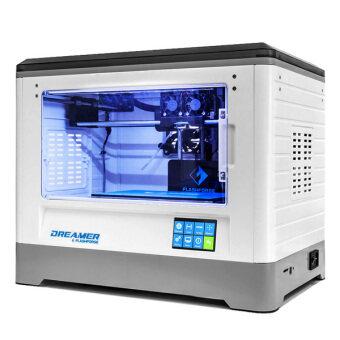 Flashforge Dreamer เครื่องพิมพ์ 3มิติ สองหัวฉีด (White)