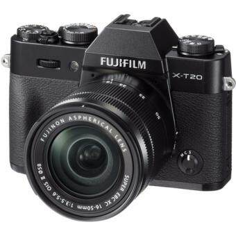 Fujifilm X-T20 Mirrorless Digital Camera with XC 16-50mm f/3.5-5.6 OIS II Lens- [Black]