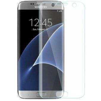 Full Cover Curved Tempered Glass Screen Protector for Samsung Galaxy S7 Edge G935F/9350 (Clear) - Intl