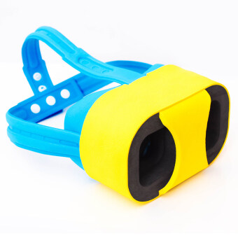 GETEK HD 3D VR Virtual Reality Glasses For Android Iphone (Yellow)