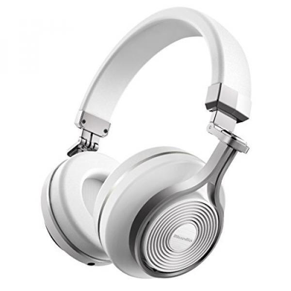 GPL/ Bluedio T3 (Turbine 3rd) Extra Bass Wireless Bluetooth 4.1 Stereo Headphones (White)/ship from USA - intl