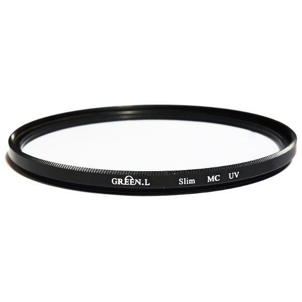 Green.L Slim MC UV Protector Filter ขอบบาง สำหรับป้องกันหน้าเลนส์ ขนาด 62 mm.