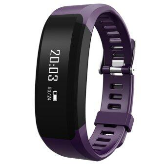 H28 Bluetooth 4.0 Heart Rate Monitor Smart Watch with Sleeping Monitor Anti-lost Reminder (Purple)