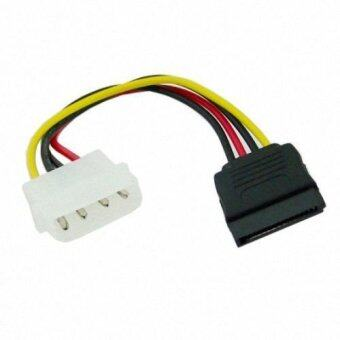 Hard Disk IDE to Serial ATA SATA II 15 Pin Power supply Cable connector 10cm