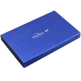 "HDD BOX 2.5"" รุ่นLX25 hdd usb2.0 (สีฟ้า)"