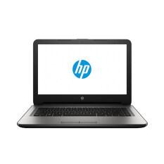 HP แล็ปท็อป รุ่น 14-am098TU/i3-6006U/14/4G/1TB/UMA/Dos (สีเงิน)