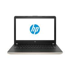 HP แล็ปท็อป รุ่น 14-bs053TX i7-7500U 4G 1T AMD520(2) Dos (สีทอง)