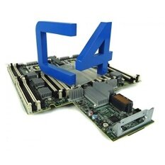 HP 610092-001 B-side system board - Supports Intel Xeon 7500 series processors only - intl