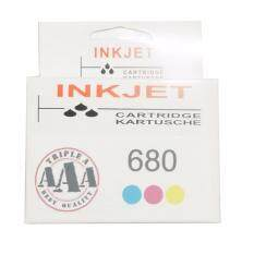 HP 680 Recycle Tri-color Ink Cartridge (F6V26AA) image
