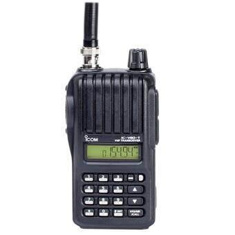 ICOM วิทยุสื่อสาร Walkie Talkie IC-V80T- สีดำ