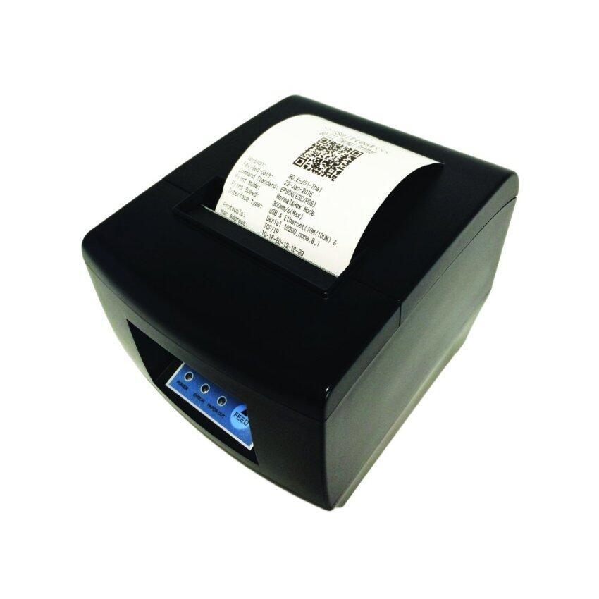 เครื่องพิมพ์สลิป ใบเสร็จรับเงิน ใบกำกับภาษีอย่างย่อ รุ่น IN-80NI ขนาด 80มม.(สีดำ)