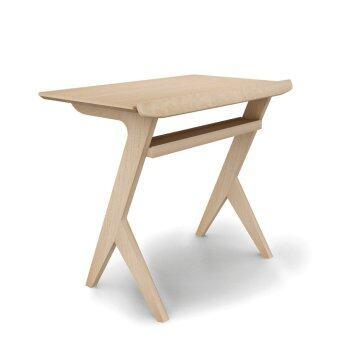 Innolife Casual Workstation โต๊ะวางคอมพิวเตอร์สำหรับนั่งโซฟาหน้าทีวี - สี White Oak