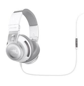 JBL Synchros S500 Powered Over-Ear Stereo Headphones, White - intl