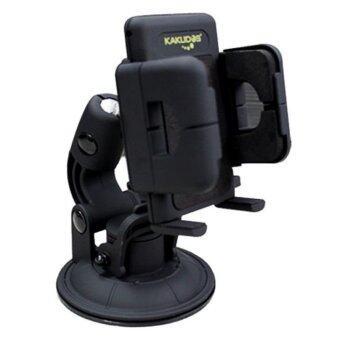 KAKUDOS แท่นวางโทรศัพท์มือถือในรถยนต์ Car Holder K-W3 (Black)