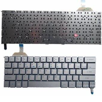 Keyboard for ACER S7 S7-191 S7-192 S7-391 S7-392 Laptop Keyboard US Silver