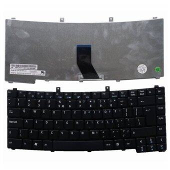 Keyboard for ACER TM2300 2300 TM2303 2303 TM2305 TM2405 4000 Laptop Keyboard with Frame US Black
