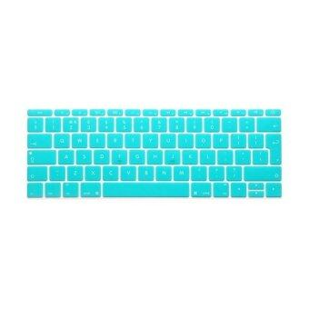 Keyboard protector 12 Inch for Apple Mac-book Air / Mac-book Pro European Version (Blue)