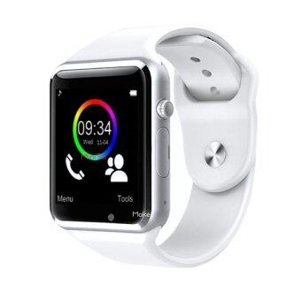 ราคา Kimi นาฬิกาโทรศัพท์ Bluetooth Smart Watch รุ่น A1 Phone watch(White)