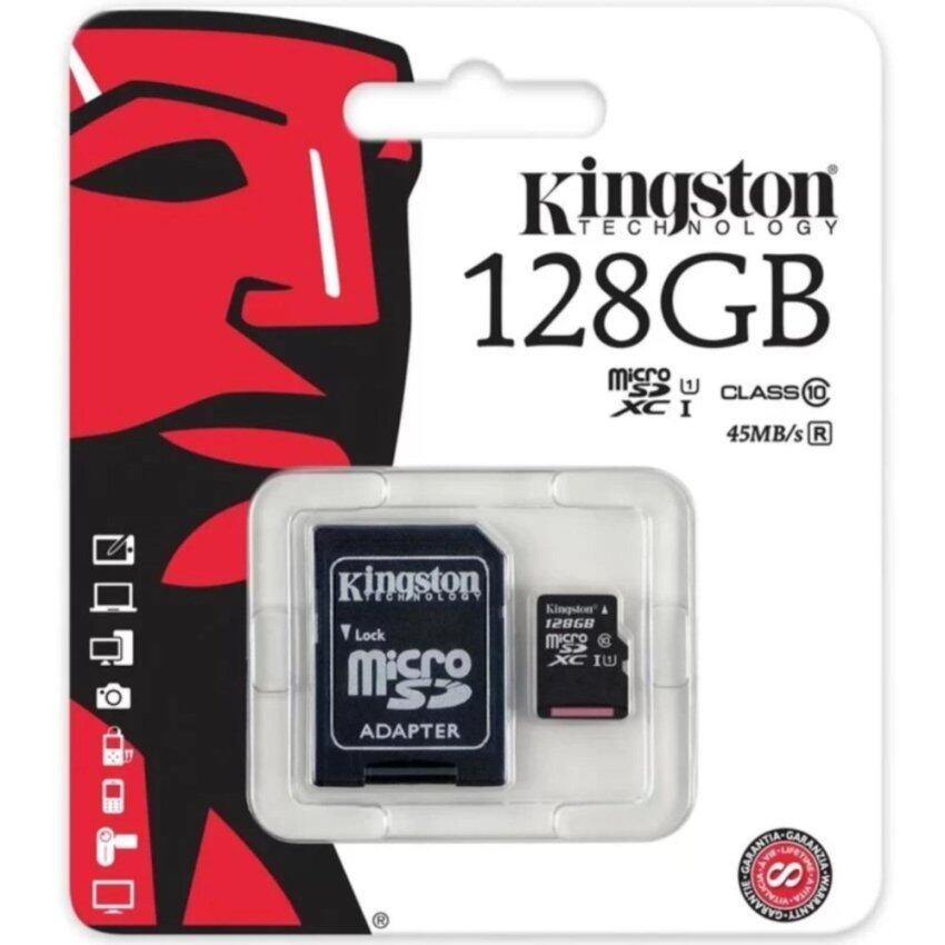 Kingston Class 10 UHS-I Micro SD 45MB/s คิงตันไมโคร SD card 128GB