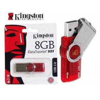Kingston DT101 G2 USB 2.0 Flash Drive 8GB Pen Drive Pendrive Memory Stick Pendrives (Red) (Intl)(Red)