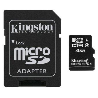Kingston Memory Micro SD Card Class 4 - 4GB with Adapter