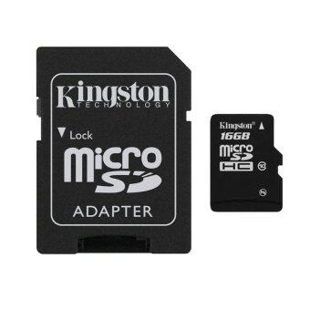 Kingston Micro SD 16GB Class10 Memory Card with Adapter