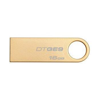 Kingston USB FlashDrive DataTraveler GE9 16GB (สีทอง)