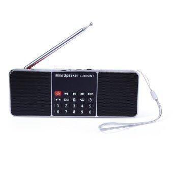 L - 288AMBT Bluetooth Wireless Speaker Support AM Radio FM Radio Function (RED)
