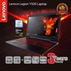 Lenovo Legion Y520-15IKBN (80WK0043TA) i7-7700HQ/8GB/1TB+256GB SSD/GTX1050Ti 4GB/15.6/DOS (Black)