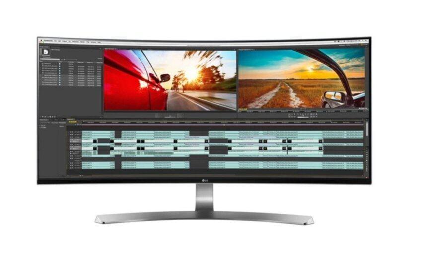 LG 34UC98-W 21:9 UltraWide® WQHD IPS Thunderbolt™ Curved LED Monitor