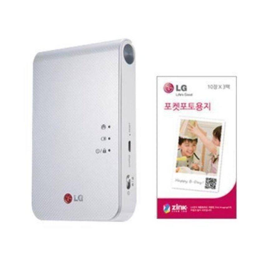 LG Pocket Photo เครื่องพิมพ์ภาพถ่ายบลูทูธไร้หมึก รุ่น PD239