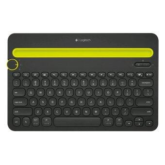 Logitech Bluetooth Multi-Device Keyboard K480 แป้นพิมพ์สกรีน TH/EN (Black)