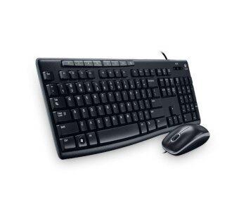 Logitech Media Combo MK-200 Thai caps keyboard + mouse