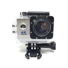 Lotus กล้องกันน้ำ ถ่ายใต้น้ำ พร้อมรีโมท Sport Camera Action Camera 4k Ultra Hd Waterproof Wifi Free Remote ราคา 985 บาท(-51%)