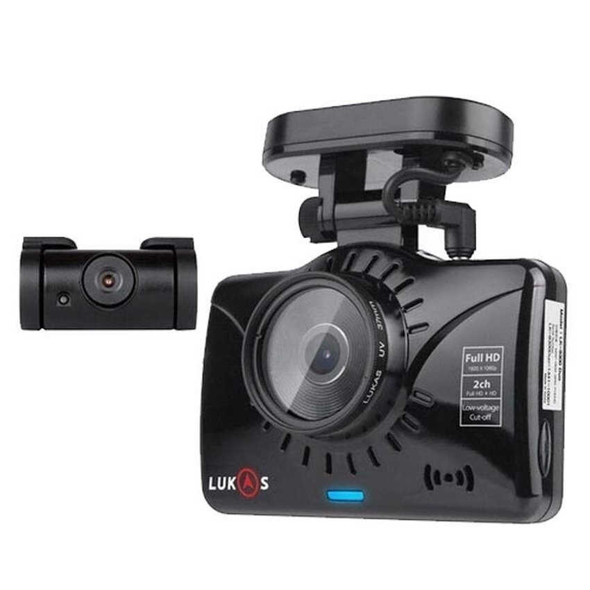 Lukas Real Black Box Camera LK-9350 DUO 16G/8G Body + GPS+ConstantPower - intl ...