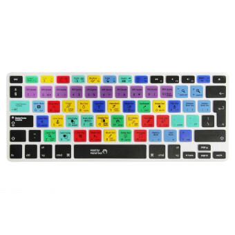 แป้นพิมพ์แป้นพิมพ์สติ๊กเกอร์เนื้อซิลิโคนครอบฉนวนสำหรับ Mac Macbook Air Pro 13 15 สนุกสนาน