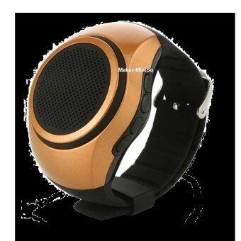 ราคา Maker ลำโพงบลูทูธ นาฬิกาข้อมือ รุ่น B20 Smart Sport Watch (Gold)