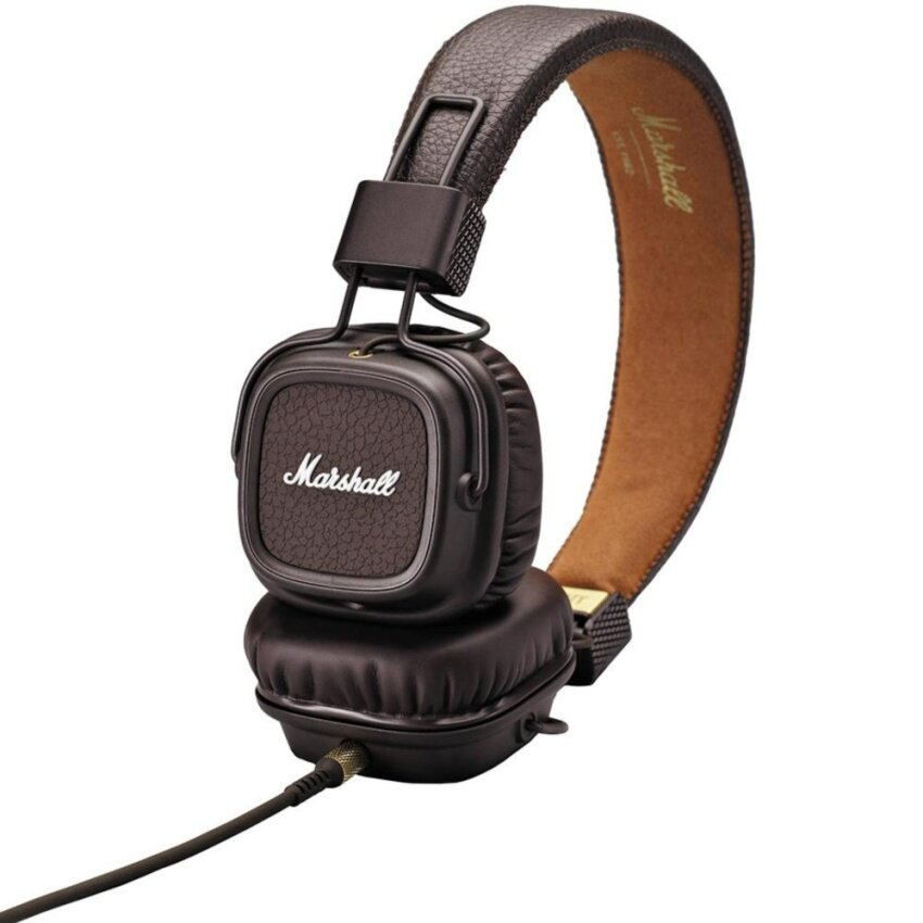 Marshall Headphone with Mic. Major II Brown