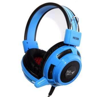 ซื้อ/ขาย MD-TECH หูฟัง HeadSet MD Tech CYCLONE HS388 (Blue)(Blue)