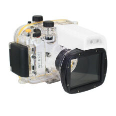 Meikon 40M WP-DC44 Waterproof Underwater Housing Case 40M 130FT For Canon G1X Camera (18) as WP-DC44 image